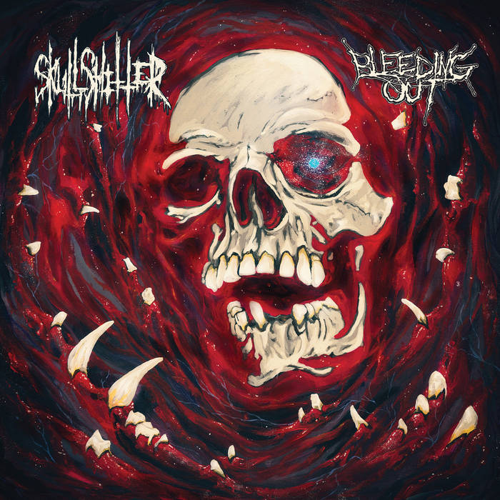 Skullshitter - Bleeding Out - split